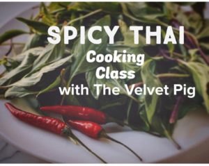 Velvet Pig Cooking Class @ The Majestic Hall