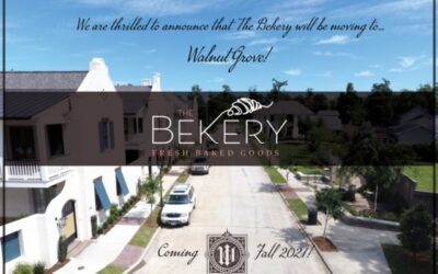 The Bekery is moving to Walnut Grove!